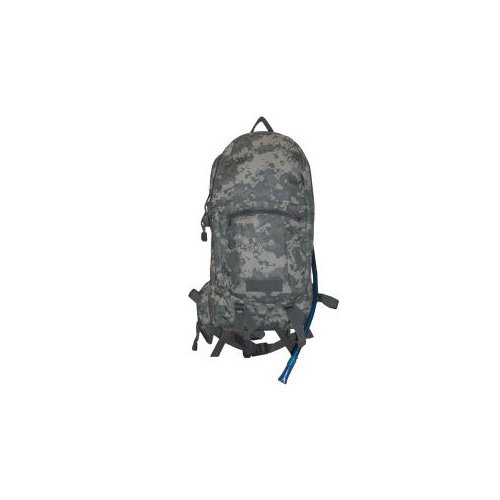 ACU Print Digital Camouflage Hydration Backpack with 90oz Water Bladder, Outdoor Stuffs