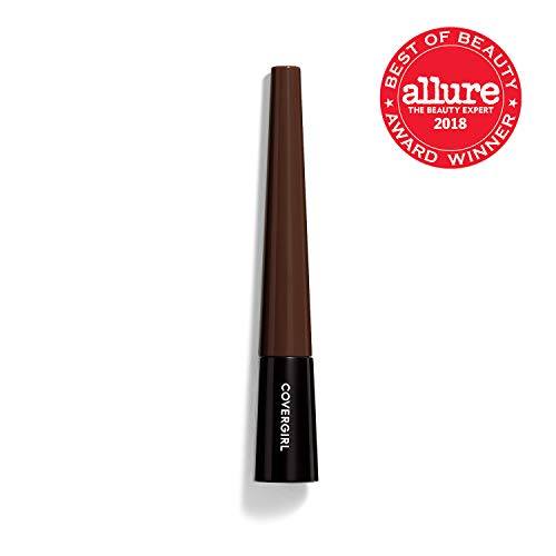 - COVERGIRL Easy Breezy Brow Fill Plus Shape Plus Define Powder Eyebrow Makeup, Rich Brown, 0.024 Ounce (packaging may vary)