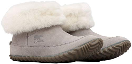 - Sorel Women's Out 'N About¿ Bootie Chrome Grey/Natural 9 B US B (M)