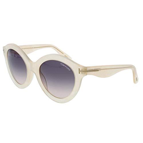 Discount Name Brand Glasses - Tom Ford Women's TMF-SUNG-FT0359-21B-55 Designer Sunglasses,