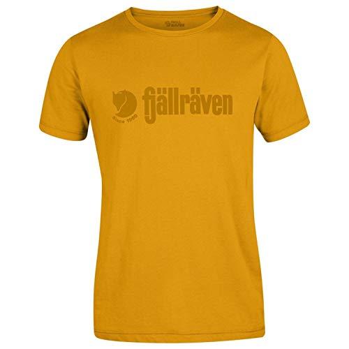 (Fjallraven Men's Retro T-Shirt, Campfire Yellow, S )