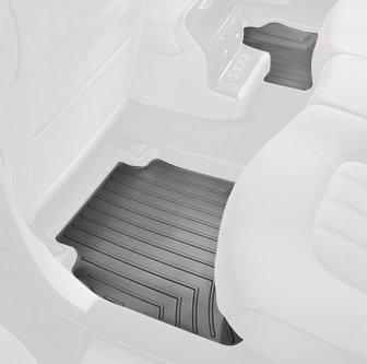 WeatherTech Custom Fit Rear FloorLiner for Chevrolet HHR (Black) Chevrolet Hhr Weathertech Floor