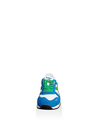 Collo Basso a Titan Uomo Sneaker Smeraldo II Diadora Bianco xA4qIX