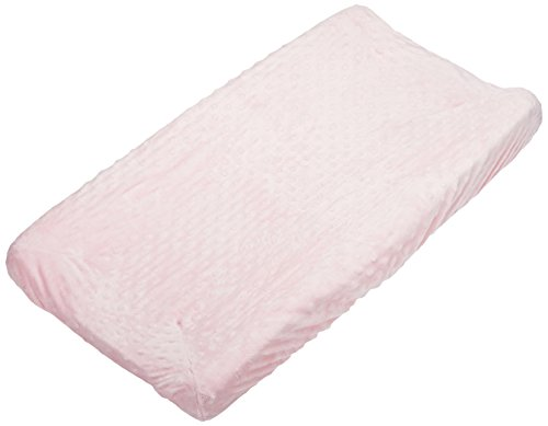 Rumble Tuff  Minky Dot Changing Pad Cover, Pink,Standard by Rumble Tuff