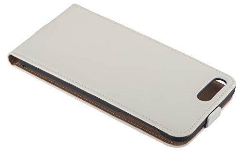 yayago Flip Case für Apple iPhone 7 Plus Tasche Creme-Weiß