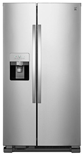 Kenmore 51115 25 cu. ft. Side-by-Side Refrigerator, Active Finish