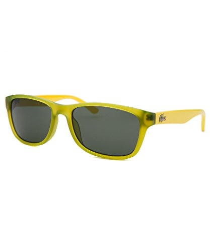 Lacoste Eyewear Rectangle Kids Sunglasses (Green - Lacoste Green Sunglasses