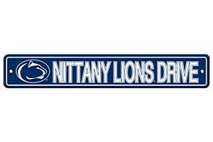 Lions Street Sign - Fremont Die NCAA Penn State Nittany Lions Street Sign, 4