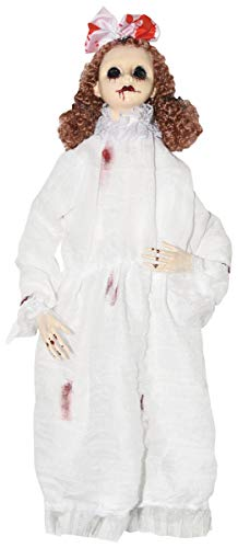 Porcelain Dolls Halloween (Sunstar Halloween Creepy Bloody Girl Baby Doll, 22)