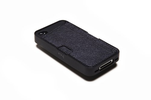 Silk iPhone 4/4S Wallet Case - Q CARD CASE [Slim Protective CM4 Cover] - Black Onyx by Silk (Image #6)
