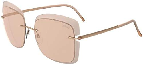 Silhouette Gafas de Sol Accent Shades 8165 Rose Gold/Pink ...