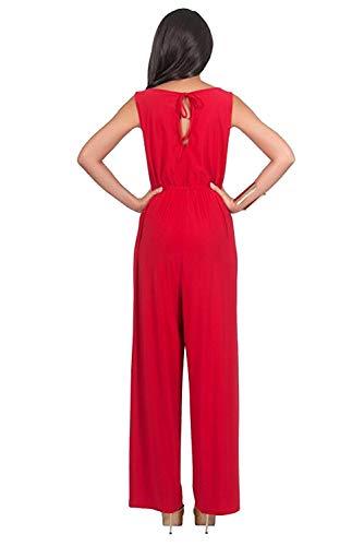 Jumpsuit Sans Combinaison Color Overall Salopette Barboteuse Romper Playsuit Manche Ample Eté 15 Aibayleef Femme Large Pantalon Casual wEBWZ88
