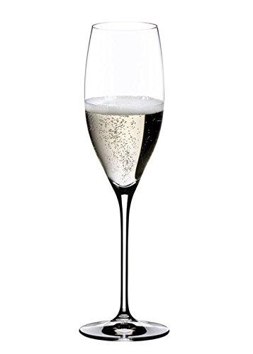 2 Gläser Champagner Cuvée Prestige von Riedel aus der VINUM Serie