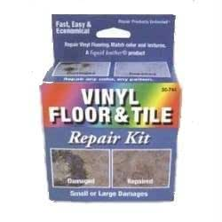 Liquid Leather Vinyl Floor and Tile Repair Kit