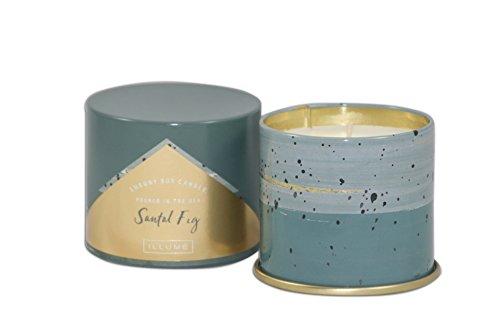 Illume Santal Fig Luxury Soy Candle Tin 11.8 Ounce