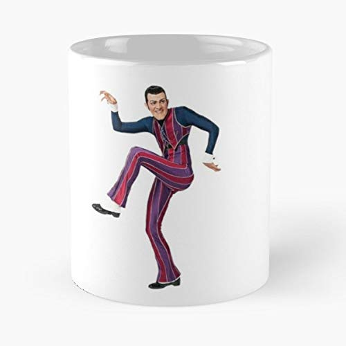 Robbie Rotten Sportacus Meme Dank Gift Coffee/tea Ceramic Mug Father Day -