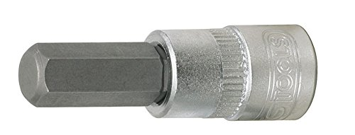 2,5mm KS Tools 917.1435 1//4 Bit-Stecknuss Innensechskant
