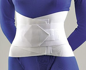 Alimed Lumbar Sacral Support With Overlapping Abdominal Belt 10