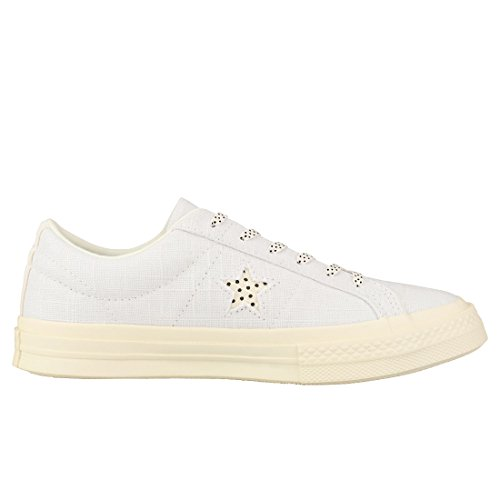 Blanc Noir Converse Ox One Baskets Femmes Star xTYHUw
