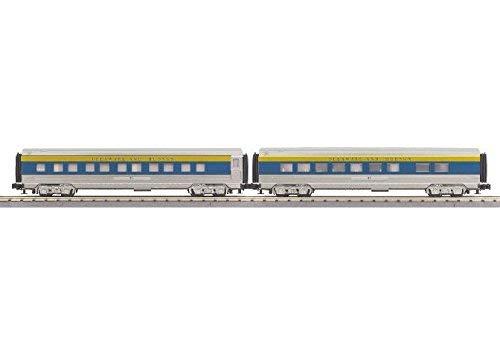 D&H 2 CAR 60' STREAMLINE SET - Streamline 60 Set Passenger