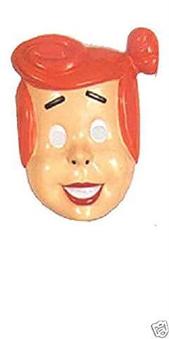 Wilma Flintstone The Flintstones Plastic Child Mask Halloween Costume Accessory - Flintstone Mask