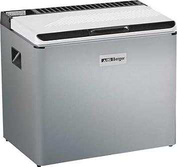Berger Kühlbox RC1600GC mit Gaskartusche Strom Batterie Absorbertechnik Kühltruhe Gefrierbox