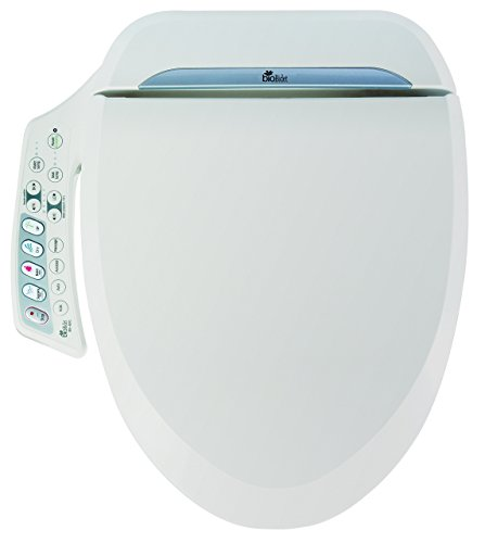 Bio Bidet Ultimate BB-600 Advanced Bidet Toilet Seat, Elongated White (Certified Refurbished) (Toilet White Bidet Seat Advanced)