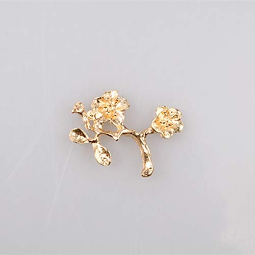 24Pcs/Lot Wholesale Leaf Brooch Pins Love Wedding Jewelry Pins and Brooches for Women Flower Kampanula -Chehol Broches Myqb111