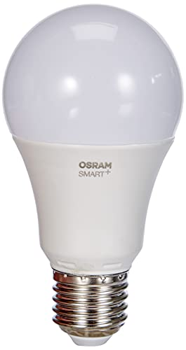 Osram Smart + LED, lámpara ZigBee con base E27, de blanco cálido a luz diurna (2700K - 6500K), regulable, 8.5W = 60W
