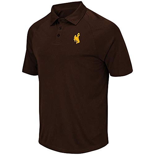 - Mens Wyoming Cowboys Wellington Polo Shirt - L