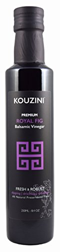 Kouzini Ultra Premium Royal Fig Balsamic Vinegar (250ML Bottle) -