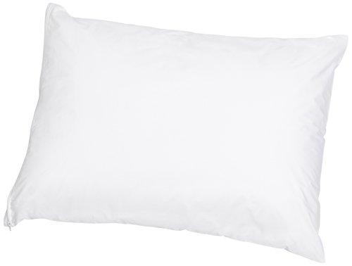 Price comparison product image AmazonBasics Hypoallergenic Pillow Protector, White, Standard