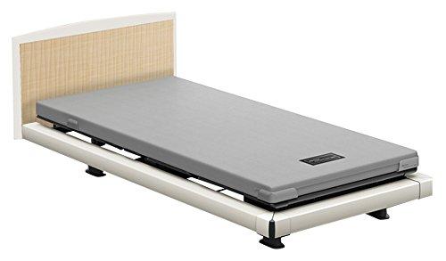 パラマウントベッド 電動ベッド インタイム1000 マットレス付 3モーター ヨーロピアン フットボードあり (グレー) RQ-1336WG+RM-E531 【4梱包】 B076DH91R6 抽象柄(グレー)|ヨーロピアン フットボードあり (グレー) 抽象柄(グレー)