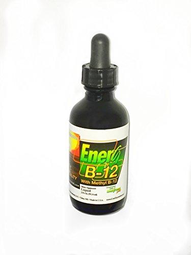 Enersource ENERG B-12 with 2500 mcg Methylcobalamin B12 Sublingual Drops, Fruit Flavor, 2 Fl. Oz.