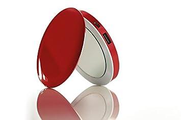 Pearl Espejo de emergencia batería 3000 mAh para Smartphone (rojo)