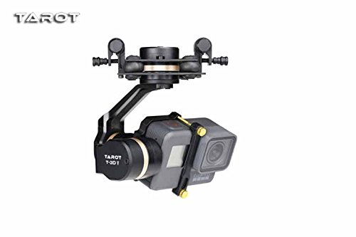 Tarot 3D V Metal 3 axis PTZ Gimbal Camera Stablizer for GOPRO Action Camera FPV Drone Spare Parts TL3T05 by Tarot