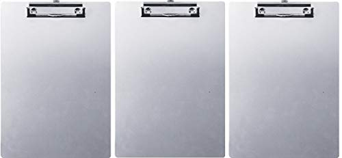 Officemate Aluminum Clipboard, Letter Size, 1 Clipboard (83211) (Pack of ()