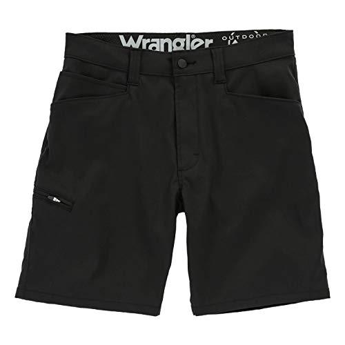 Wrangler Flap Pocket Performance Utility Short, Caviar, 30 Regular