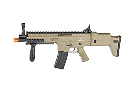 amazon com soft air fn scar l airsoft gun sports outdoors