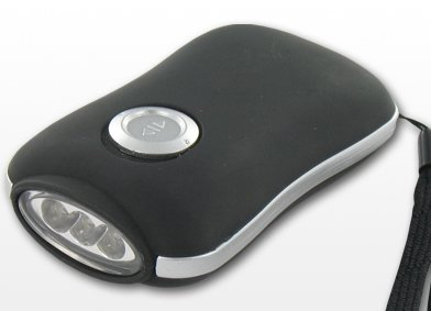Salki 2010404 Dynamo –  Taschenlampe 3LEDs Mini TL404 2010404