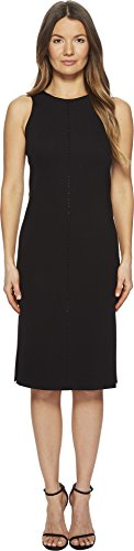 Escada Sport Women's Dajet Dress With Rhinestone Detail Black 36 (Rhinestone Escada)