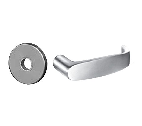 Sargent 8245-LNL-26D Dormitory or Exit Lever Lockset in Satin Chrome by Sargent