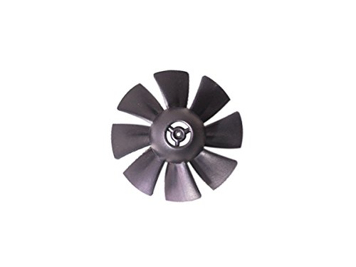35Mm Edf Accessory 8 Blade Fan Rotor 35Mm Pvc Blue Platic Material Ducted Housing Single Ducted Fan And Ducted Housing For Sale Without Brushless Motor  Acdf103