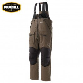 Frabill Ice I3 Bib, Brown, Small (Ice Suit)