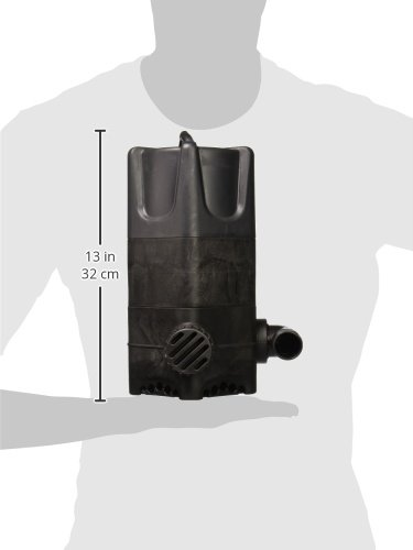 Little Giant WGP-95-PW Dual Discharge Waterfall & Stream Pump, 4300 GPH