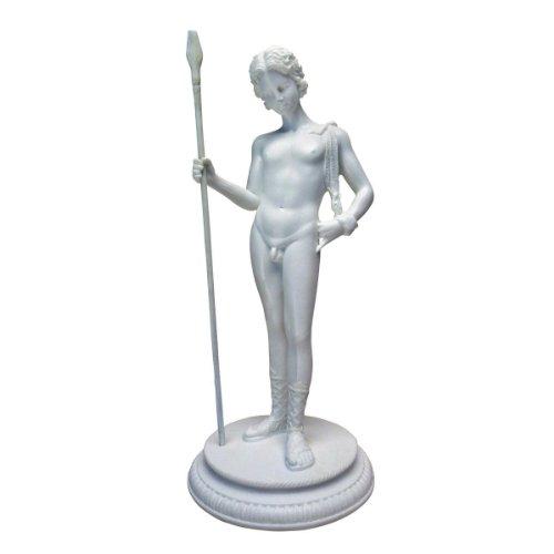 Design Toscano Dionysus Greek God of Fertility Bonded Marble Resin Statue, (Marble God Statue)