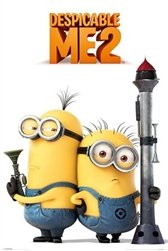 Despicable Me 2 Armed Minions Poster