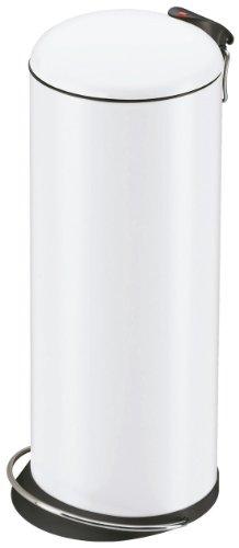 Hailo 0523-219 Design Tret-Abfallsammler TOPdesign 26, weiß