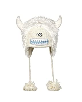 a439435700d Image Unavailable. Image not available for. Colour  Knitwits Yeti Snow  Monster Hat ...