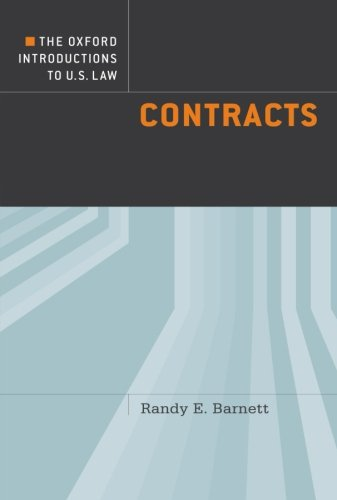 The Oxford Introductions to U.S. Law: Contracts